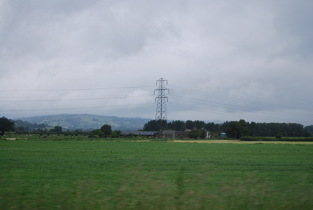 Pylon near Gilpin Farm