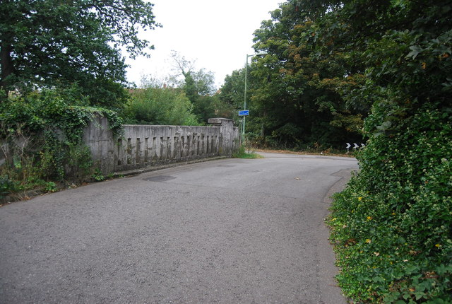 Bridge over Belstead Brook