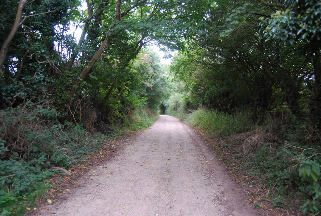 Bridleway to Thornington Hall