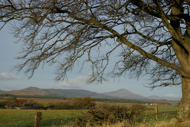 View over Kepculloch towards Ben Lomond