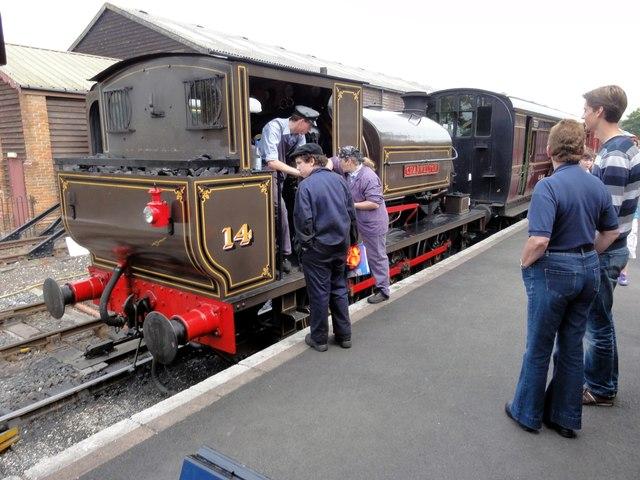 Tenterden, Kent & East Sussex Railway