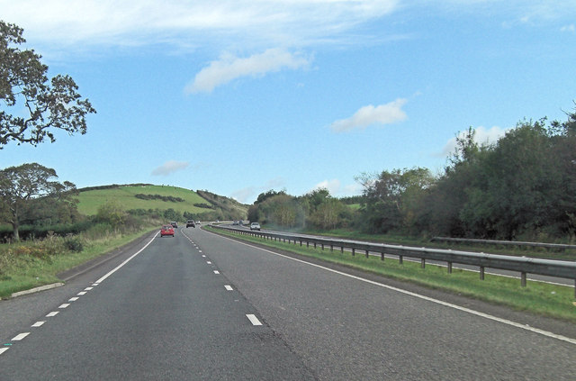 A30 southwest of Knowle