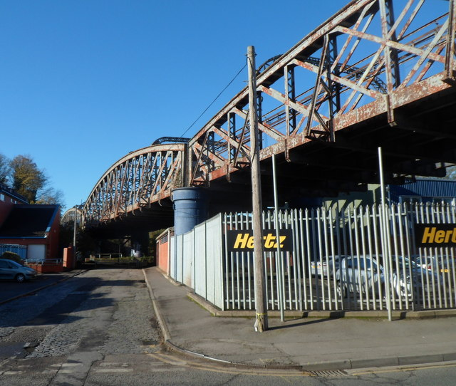Railway bridge, St Philips, Bristol