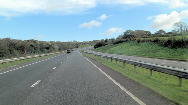 A30 south of Cowsen Down