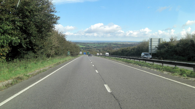 A30 north of Kerslake Farm