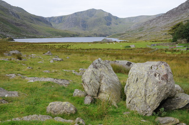 Llyn Ogwen and Y Garn