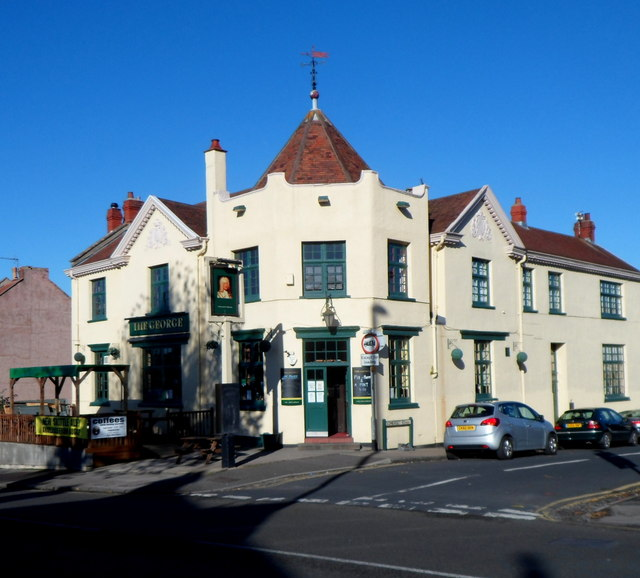 A view from the south of The George, Knowle, Bristol