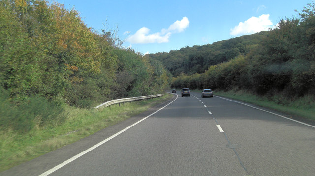 A30 south of Okehampton Golf Course