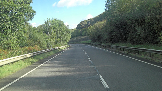 A30 north of Okehampton Park