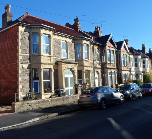 Harrowdene Road houses, Knowle, Bristol