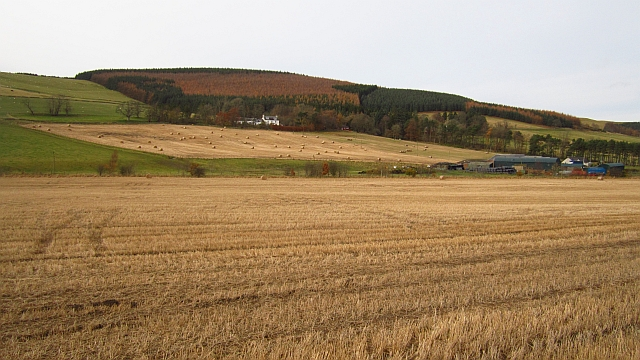 Arable land, Glenholm