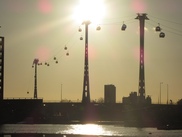 Emirates Air Line, London Docklands