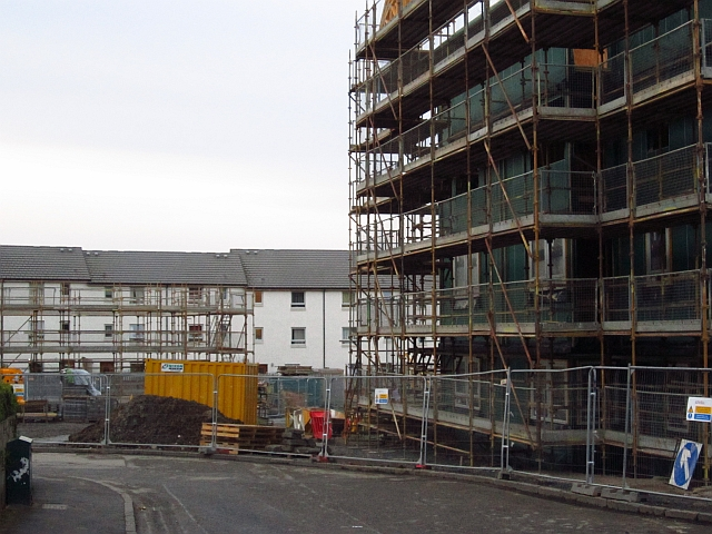 Construction, Oxgangs Crescent