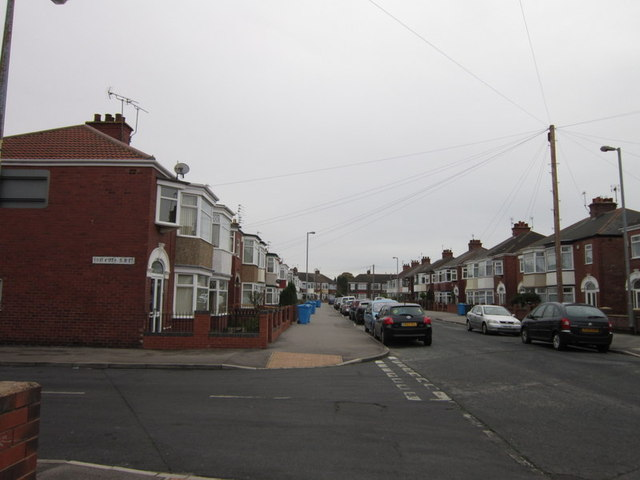 Lodge Street at Whitworth Street, Hull