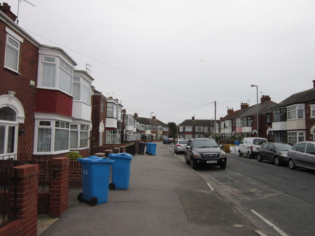 Lodge Street off Holderness Road, Hull