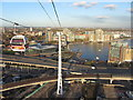 TQ3980 : View NE from the Emirates Air Line by Gareth James