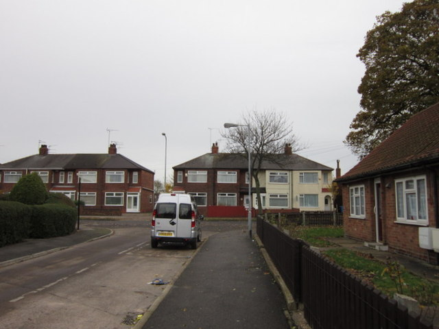 Boulton Grove at Southcoates Avenue, Hull