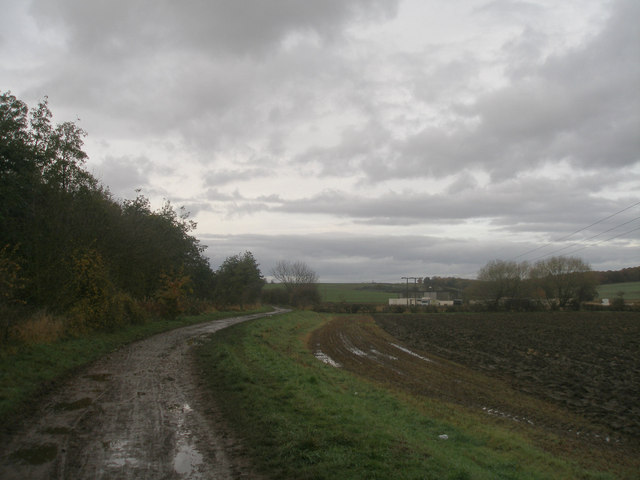 Track near Kinsley Green Farm