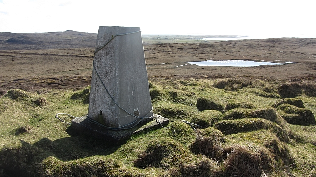Beinn Scolpaig triangulation pillar