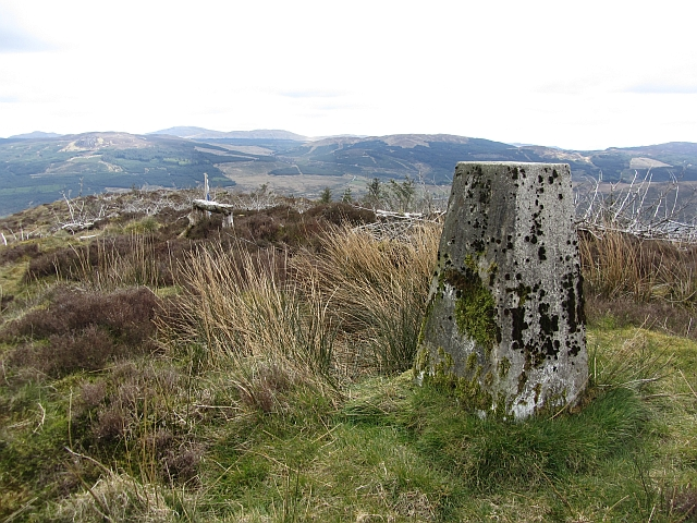 Triangulation pillar, Dùn Leacainn