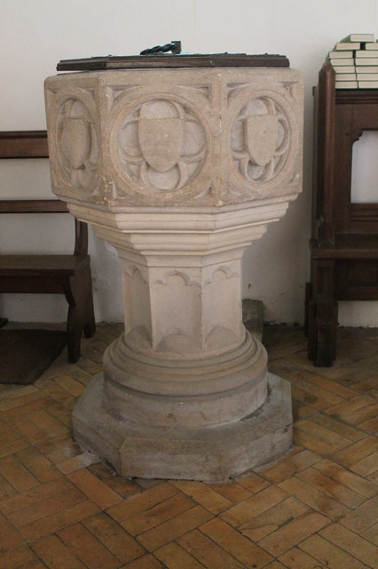 Font, St Martin's church, Withcall