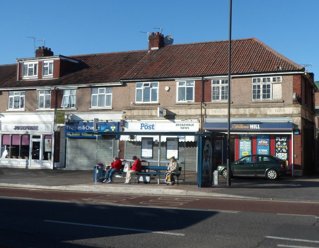 Broad Walk shops near Broadwalk Shopping Centre, Knowle, Bristol