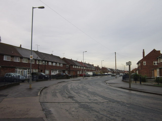 Bilsdale Grove off Southcoates Lane, Hull