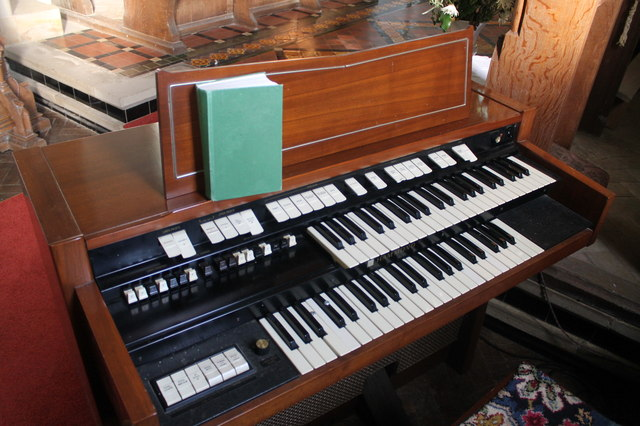 Electric Organ, St Martin's church, Withcall