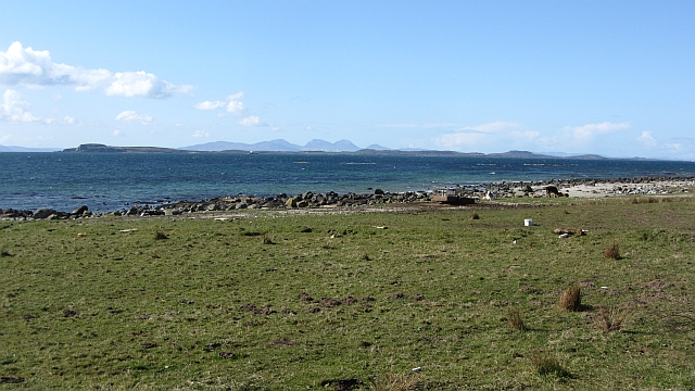 Raised beach near Muasdale