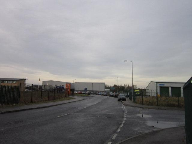 Burma Drive off Marfleet Lane, Hull