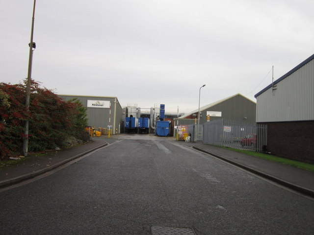 The Kingspan works on Burma Drive, Hull