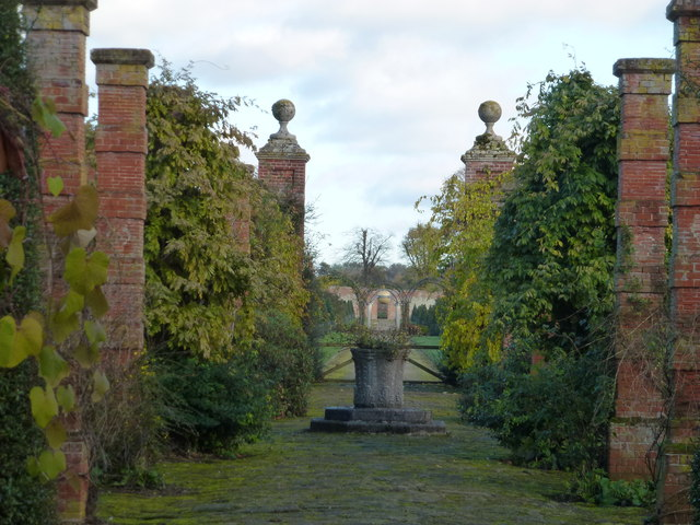 The walled garden near Sandringham House