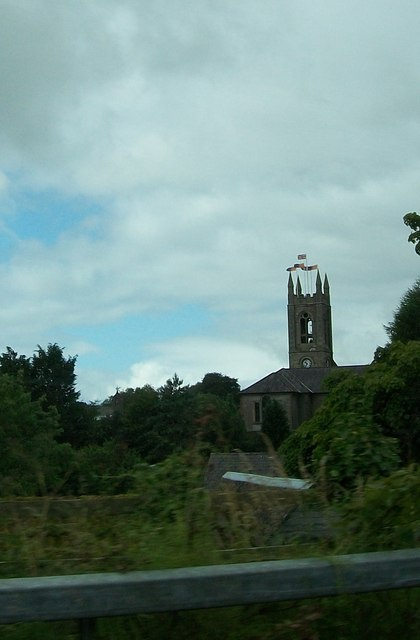 The tower of Lisbellaw Parish Church