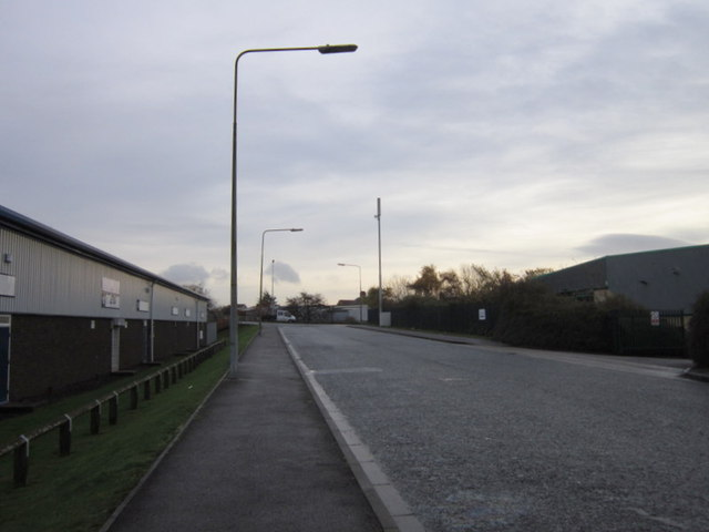 Burma Drive towards Marfleet Lane, Hull