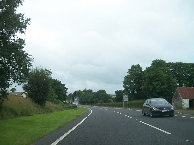 Heading for Tamlaght on the Belfast Road (A4)