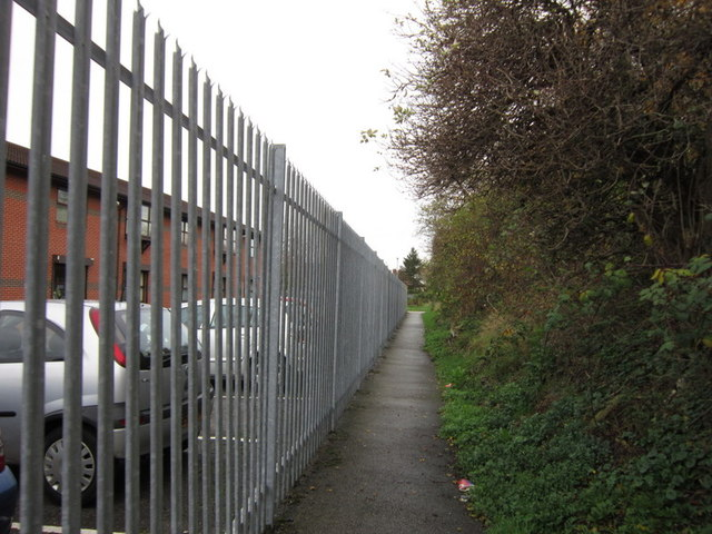 A path leading to the former Withernsea railway line