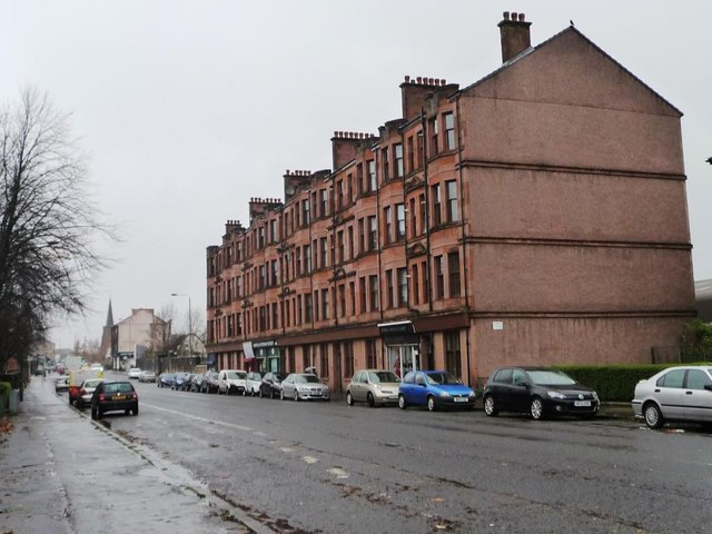 Sandstone tenements, Shettleston Road