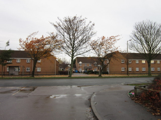 Preston Road at St Giles Court, Hull