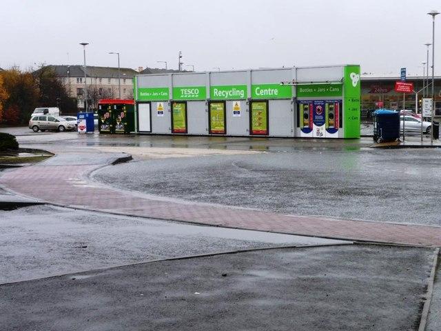 Tesco recycling centre, Shettleston