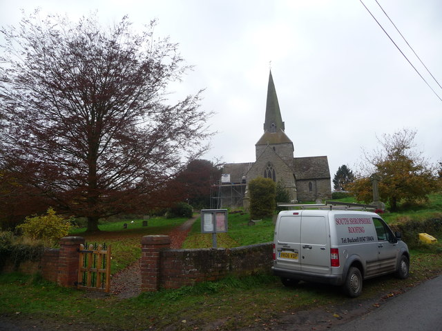 All Saints church, Neen Sollars