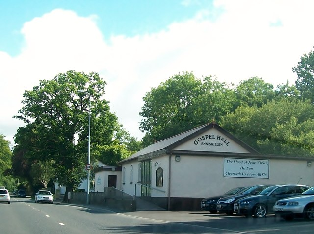 Gospel Hall, Irvinestown Road, Enniskillen