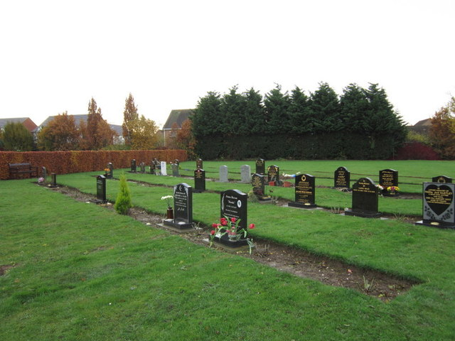 The Muslim graves at Eastern Cemetery