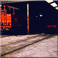 SE0337 : Engine shed at Haworth, Keighley & Worth Valley Railway by Phil Champion