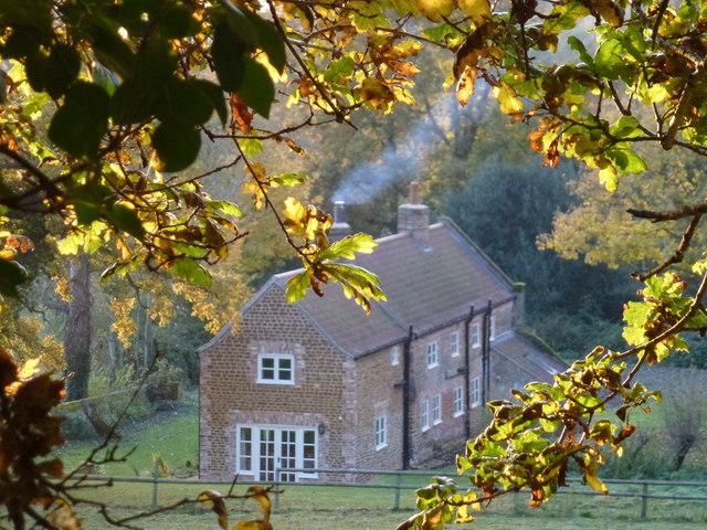Cottage near Ingoldisthorpe Hall, Norfolk