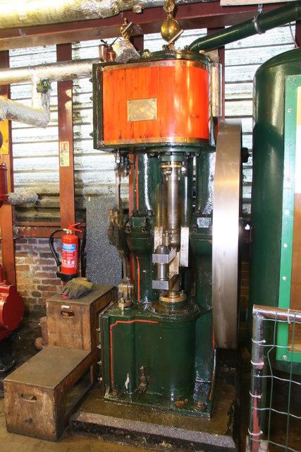 Nottingham Industrial Museum - Scotch-crank pump