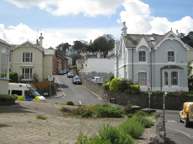 Lower end of Albion Hill