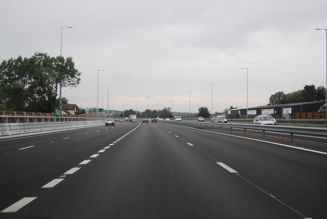 A13, Pitsea turn off