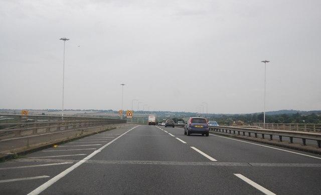A13, Pitsea