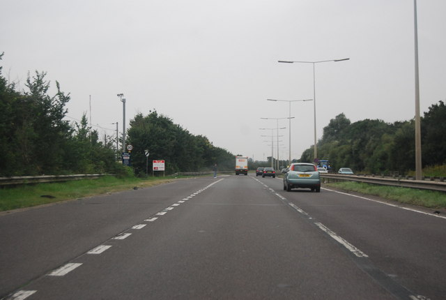 A13, Vange