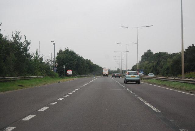 A13, Vange